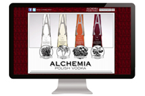 Alchemia Vodka Website Design